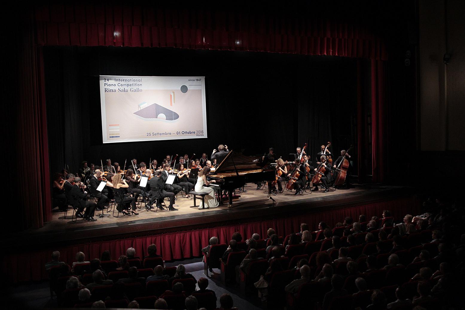 International Piano Competition Rina Sala Gallo 2016 24th edition. Monza, Italy. Maddalena Giacopuzzi.